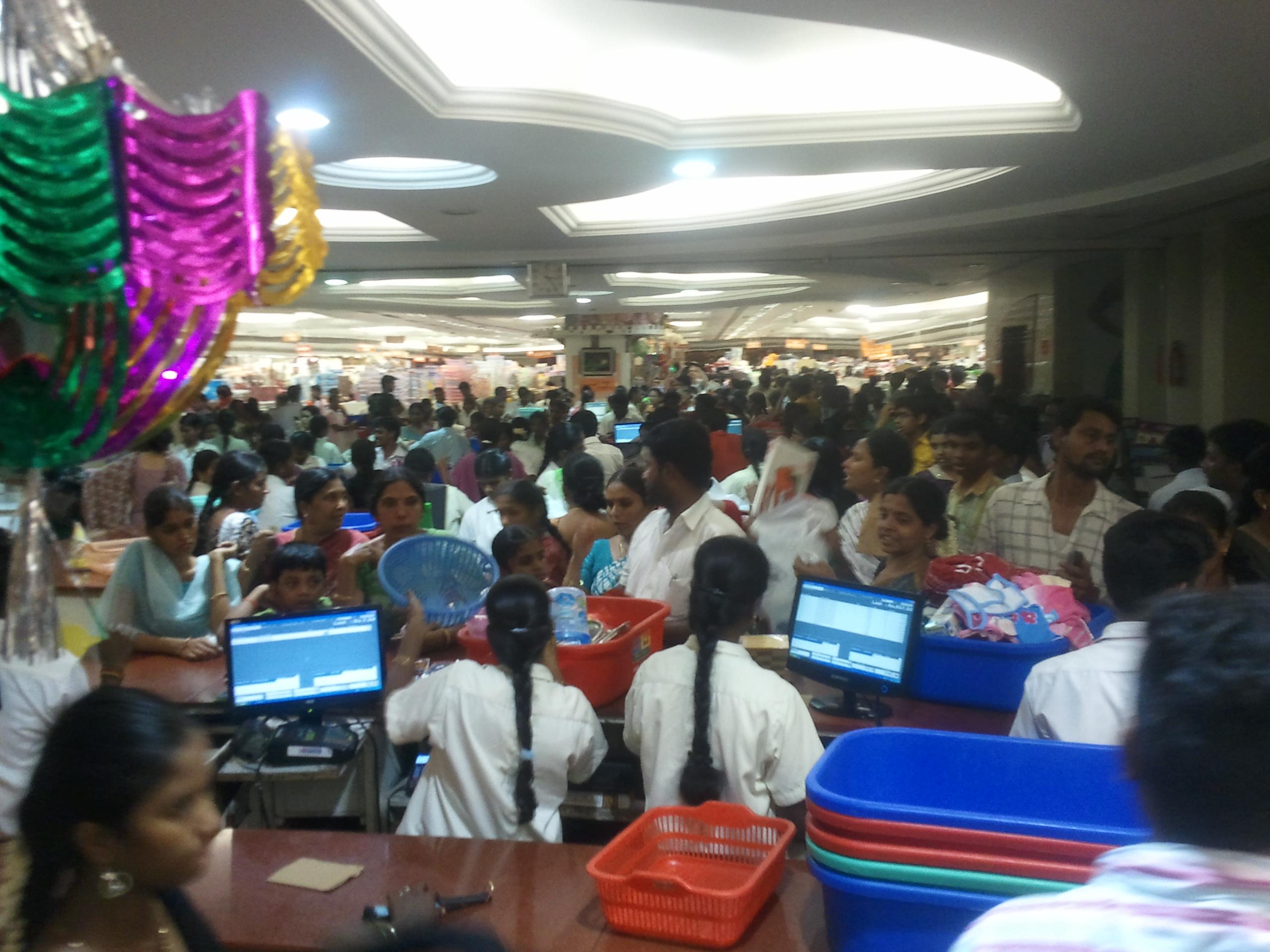 100 Sights Of Chennai 3 Saravana Stores A Bazaar On 7