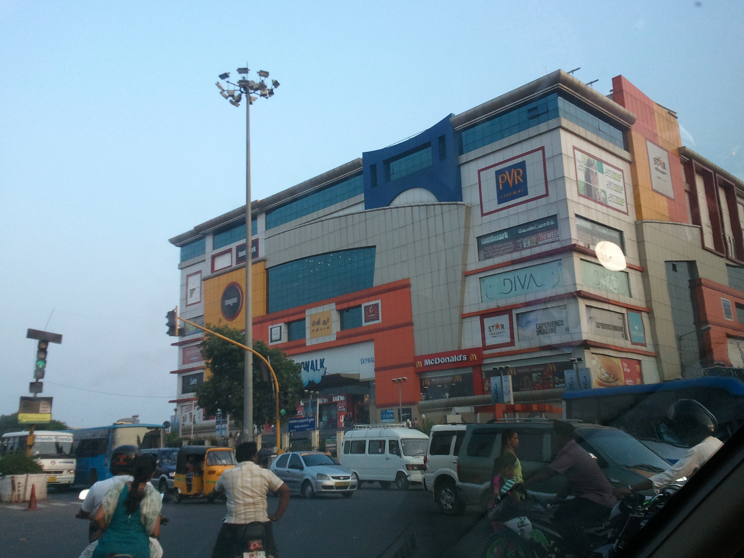 Sights Of Chennai 13 A Tale Two Malls Dosa